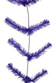 9ft Long Work Purple Garland