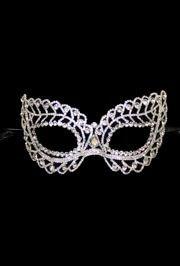 Rhinestone Eye Masquerade Mask