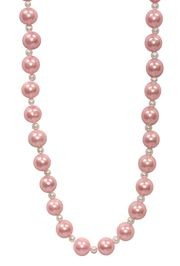 Light Pink Bead Necklace