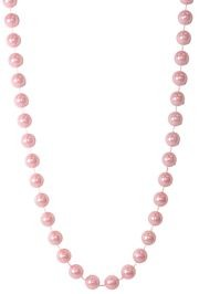 18mm 48in Pink Pearl Beads
