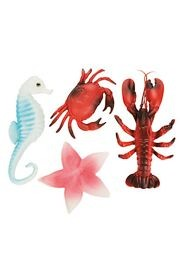 Ocean Sea Life Plastic Decoration Assortment