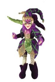 Mardi Gras Elf Doll