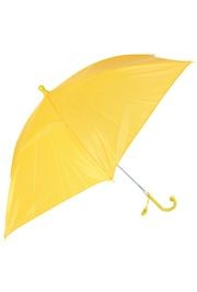 18in Long Nylon Gold Umbrella w/ Plain Edge