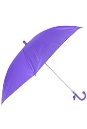 18in Long Nylon Purple Umbrella w/ Plain Edge
