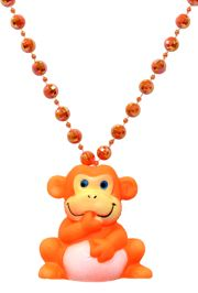 Squeaky Monkey Bead