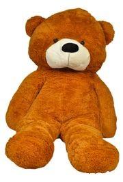 Jumbo Brown/ Cream Color Teddy Bear Stuffed Plush Toy