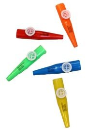 4.5in Plastic Kazoo