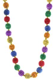 Multicolor Berry Bead Necklace