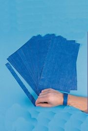 Blue Self-Adhesive Wrist Paper Tickets
