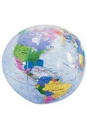 12in Clear Globe Inflate