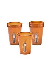 16oz Football Disposable Cups