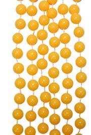 7mm 33in Non-Metallic Yellow Beads