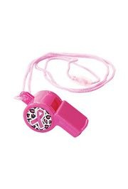 Breast Cancer Awareness Plastic Whistle