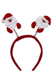 3in Santa Head Bopper