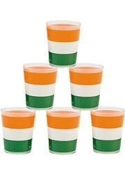 2 1/2in Plastic Irish Shot Glasses