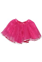 Hot Pink Color Tutu Skirt Kids Size