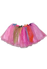 Rainbow Color Tutu Skirt Kids Size