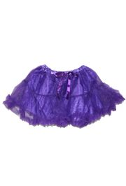 Purple Color Tutu Skirt Kids Size