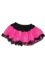 Black/ Hot Pink Color Tutu Skirt Adult Size