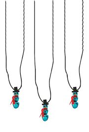 24in Metal Christmas Jingle Bell Snowman Necklaces