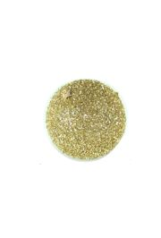 5in Glitter Decorative Gold Ball Ornament