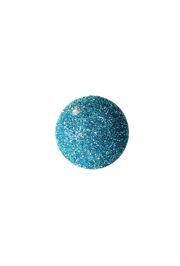 5in Glitter Decorative Turquoise Ball Ornament