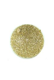 6in Glitter Decorative Gold Ball Ornament