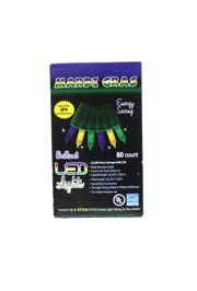21ft 80 Count Mardi Gras Lights