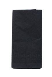 54in x 108in Black Plastic Lined Paper Tablecovers