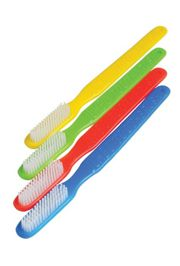 11in Assorted Colors Plastic Giant Joke Toothbrush/ Throws