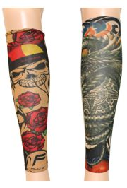 Assorted Styles Tattoo Arm Sleeve