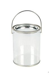 5in Plastic Bucket Containers
