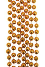 10mm 42in Round Old Gold Metallic Beads