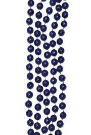 10mm 42in Dark Blue Beads