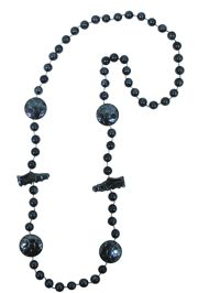 36in Metallic Navy Blue Soccer/ Football Sport Beads