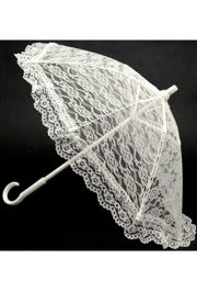 15in White Lace Umbrella/ Parasol