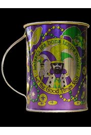 Mardi Gras Beer/ Tin Mug