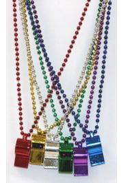Whistle Necklace: Assorted Colors