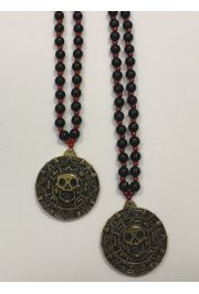 Pirate Skull Medallion Bead