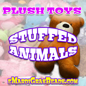 Assorted plush stuffed animals and toys