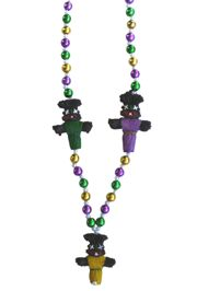 42in Voodoo Doll Necklace